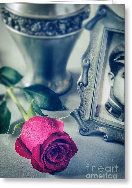 Memories Greeting Cards - Memorial Still-live Greeting Card by Carlos Caetano