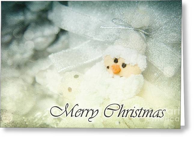 Reflex Greeting Cards - Merry Christmas Greeting Card by Angela Doelling AD DESIGN Photo and PhotoArt