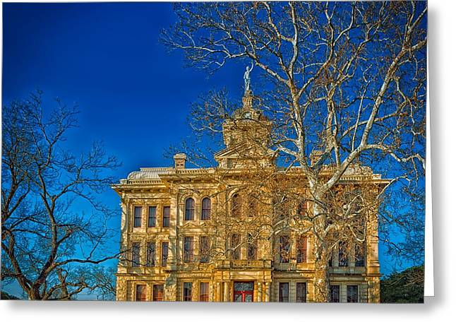 Milam County Courthouse Greeting Card by Mountain Dreams