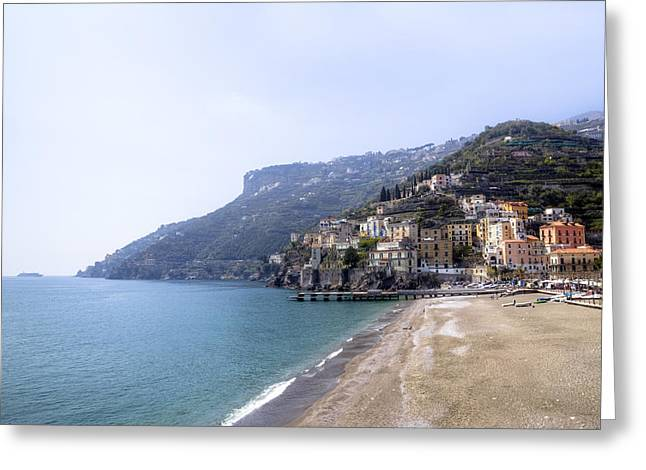 Meds Greeting Cards - Minori - Amalfi Coast Greeting Card by Joana Kruse