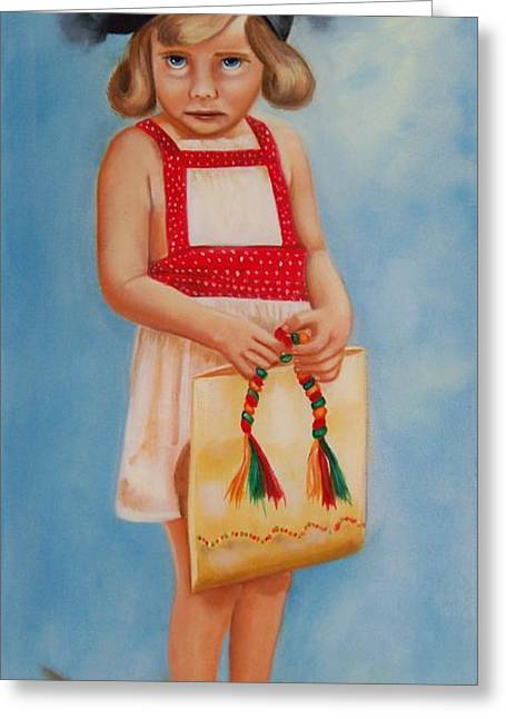 Mommys Shoes Greeting Card by Joni McPherson