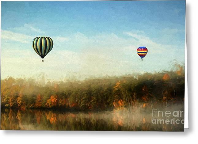 Morning Flight Greeting Card by Darren Fisher