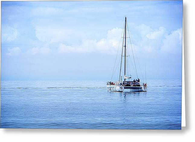Morning Sail Greeting Card by James Hammond