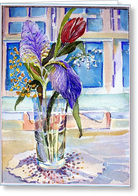 Table Greeting Cards - Mothers Day Greeting Card by Mindy Newman