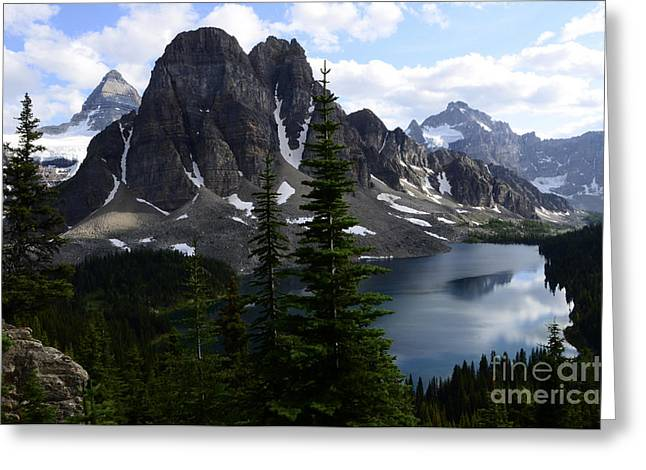 Mount Assiniboine Canada 8 Greeting Card by Bob Christopher