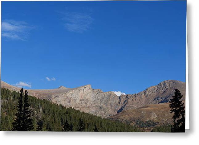 Colorado Greeting Cards - Mount Evans Greeting Card by Noah Bryant