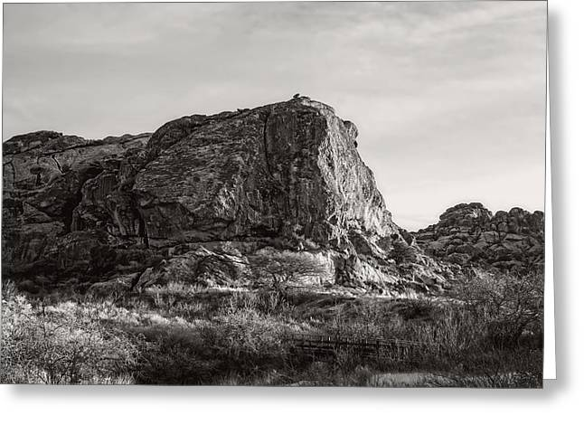 Historic Site Greeting Cards - Mountains Above El Paso Greeting Card by Mountain Dreams