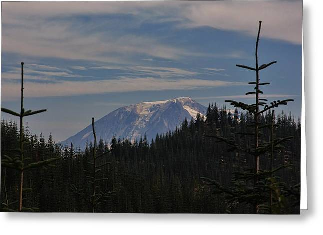 Geology Photographs Greeting Cards - Mt. Adams Greeting Card by Stacie Gary