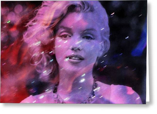 Many Greeting Cards - My Day With Marilyn Monroe Greeting Card by Richard Ray