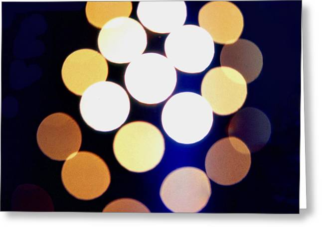 I Will Greeting Cards - Mystery Lights Greeting Card by John Foote