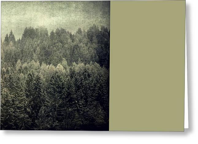 Mystic Woods Greeting Card by Vittorio Chiampan