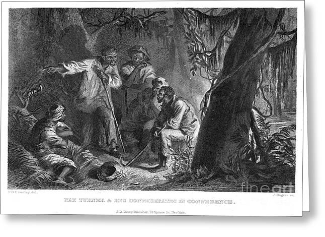 Slaves Greeting Cards - Nat Turner (1800-1831) Greeting Card by Granger