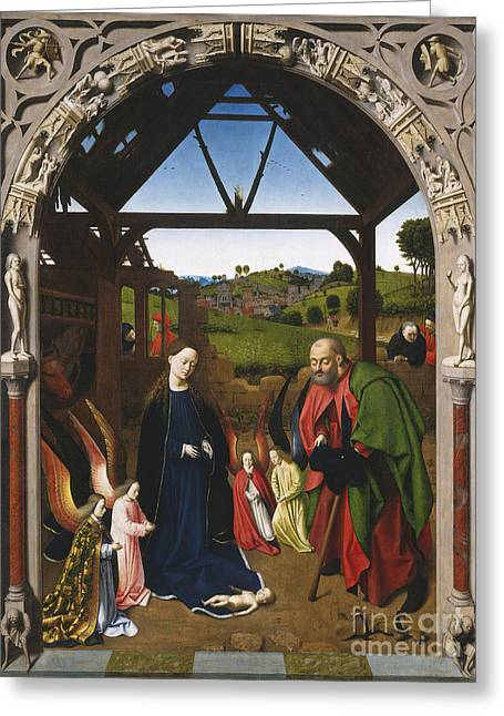 Nativity Greeting Card by Celestial Images