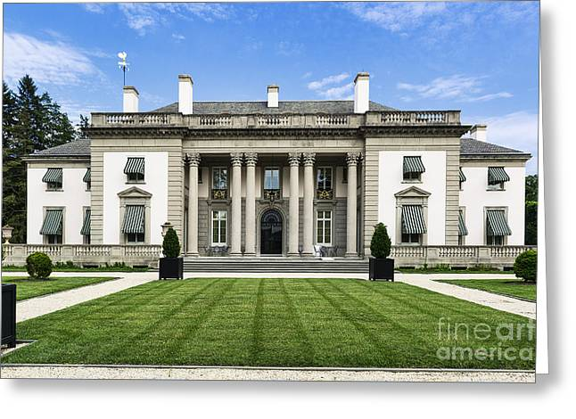 Usa Photographs Greeting Cards - Nemours Mansion and Gardens Greeting Card by John Greim