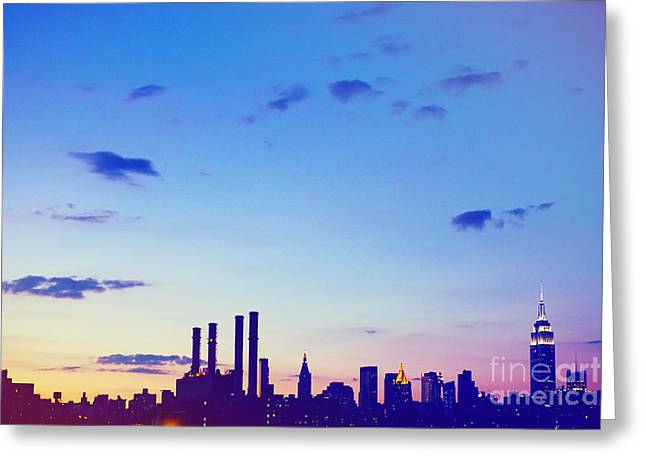 Matt Greeting Cards - New York Greeting Card by Matt