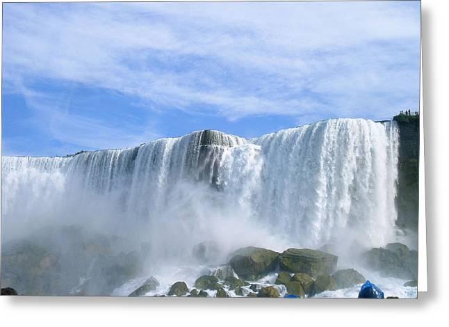 Majesty Greeting Cards - Niagara Falls Beauty Greeting Card by Deborah MacQuarrie