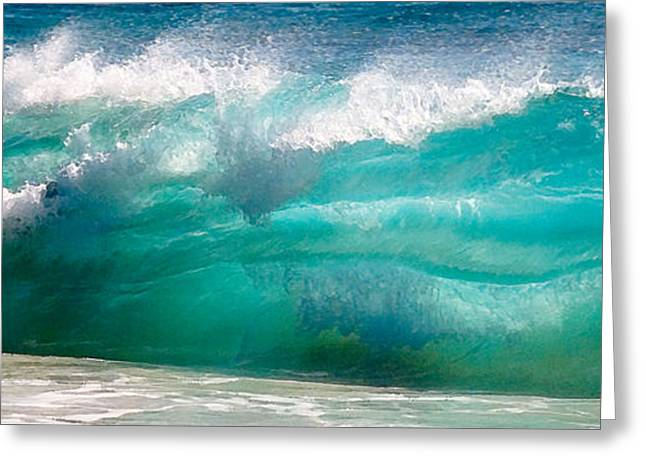 Shorebreak Greeting Cards - No Limits Greeting Card by Ron Regalado