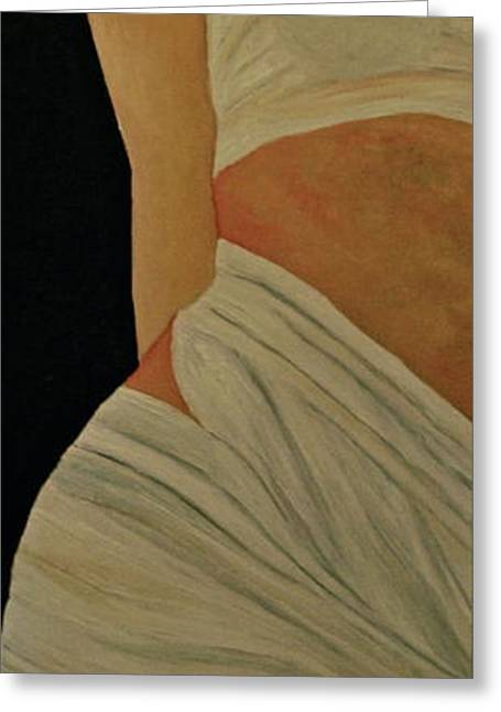 Female Body Greeting Cards - Nude in Spa Greeting Card by Dorota Nowak
