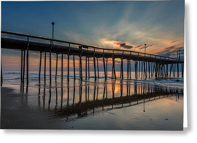 Recently Sold -  - Ocean Landscape Greeting Cards - Ocean City Maryland Greeting Card by Jim Archer