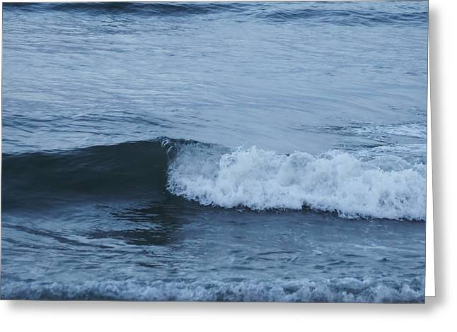 Ocean Greeting Card by HD Connelly