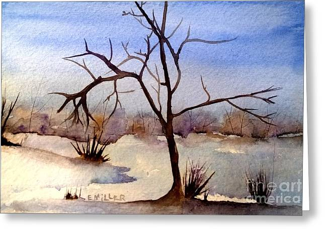 Off In The Distance Greeting Card by Eunice Miller