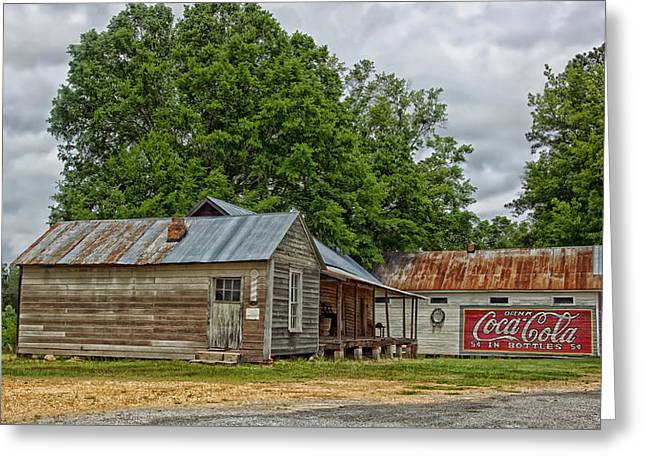 Old Buildings In Burnt Corn Alabama Greeting Card by Mountain Dreams
