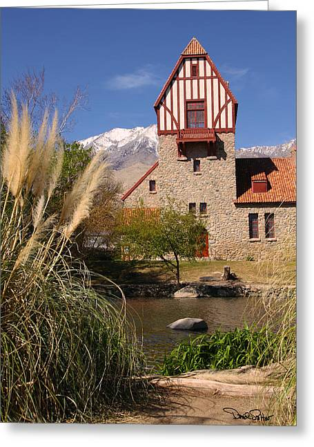 Old Mt. Whitney Fish Hatchery Greeting Card by David Salter
