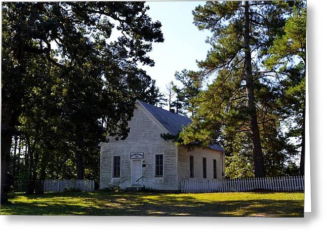 Old Union School House Greeting Card by Rob Samons