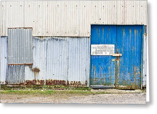 Old Warehouse Greeting Card by Tom Gowanlock