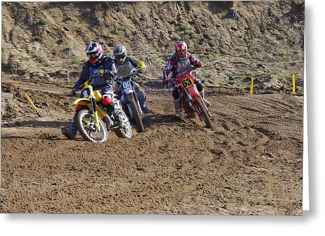 Ktm Greeting Cards - Omc vintage 2015 -15 Greeting Card by Brian McCullough