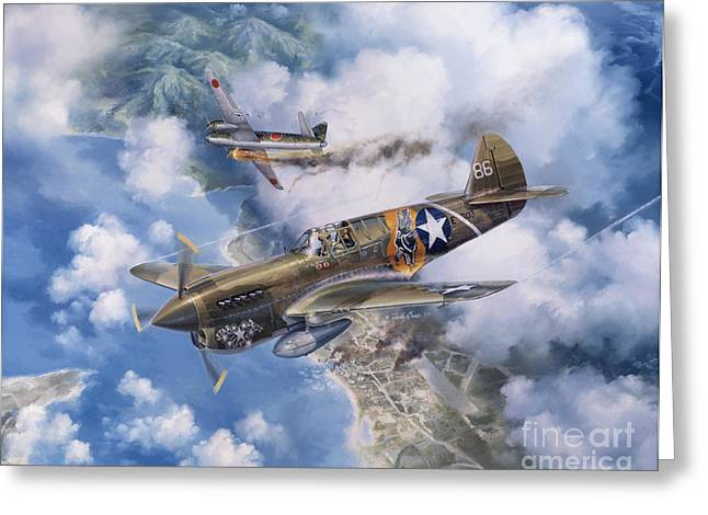 Aircraft Greeting Cards - One Off At Darwin Greeting Card by Randy Green