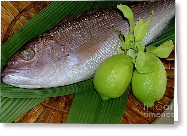 Hawaiian Fish Greeting Cards - Opakapaka Greeting Card by James Temple