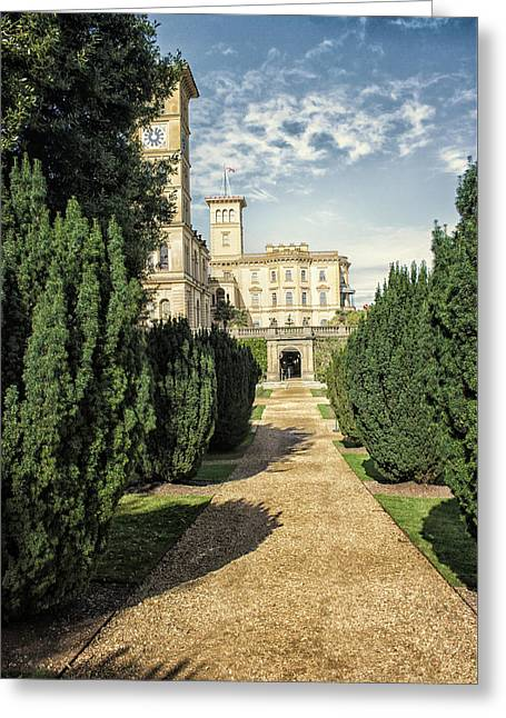 Osborne House Greeting Card by Martin Newman