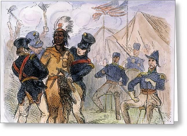 U.s Army Greeting Cards - OSCEOLA (c1804-1838) Greeting Card by Granger