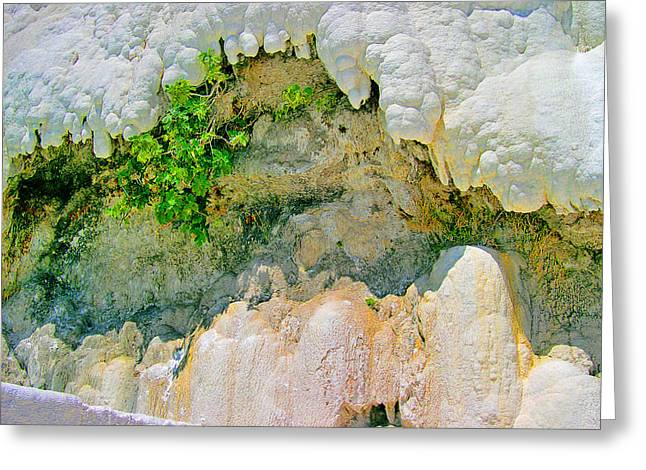 Pamukkale. Greeting Card by Andy Za