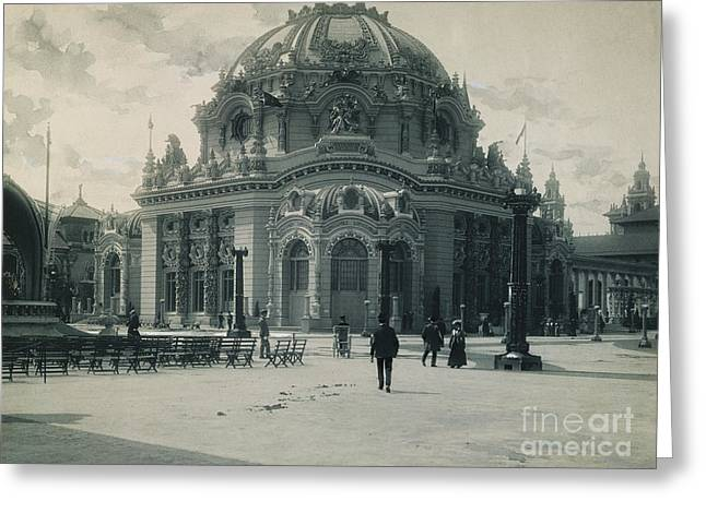 PAN-AMERICAN EXPO, 1901 Greeting Card by Granger