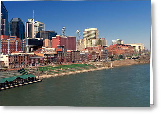 Tn Greeting Cards - Panoramic Morning View Of Cumberland Greeting Card by Panoramic Images