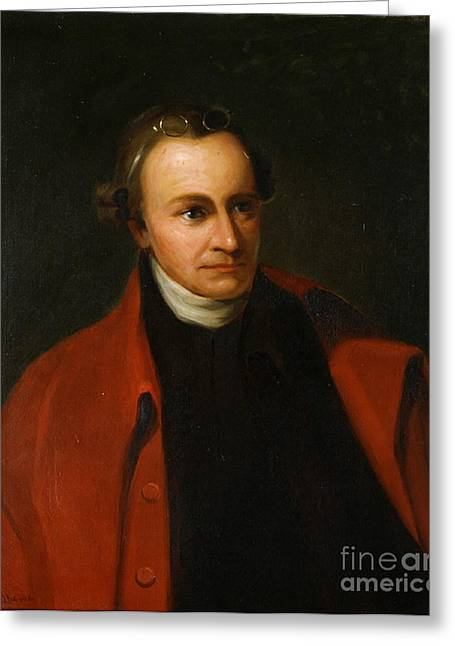 American Politician Greeting Cards - Patrick Henry, American Patriot Greeting Card by Science Source
