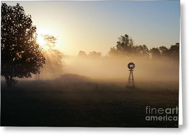 Peaceful Scene Greeting Cards - Peace in the Morning Greeting Card by Jennifer White