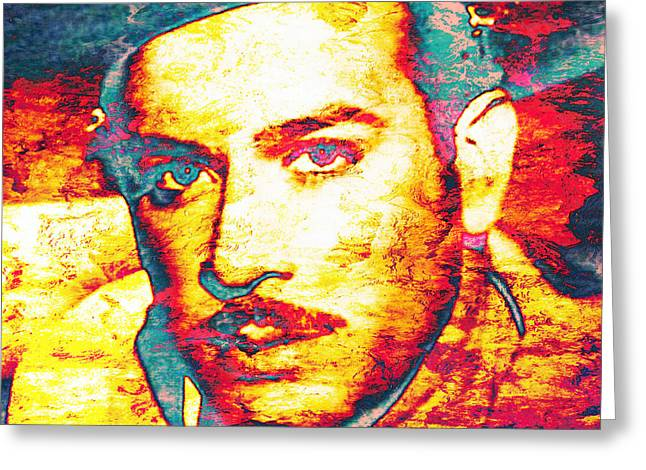 Pedro Greeting Cards - Pedro Infante Greeting Card by Jose Espinoza