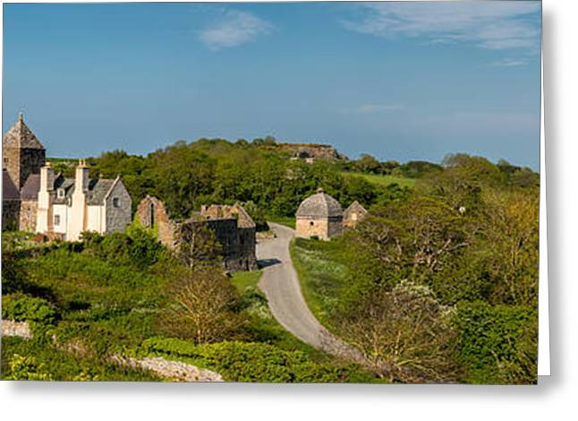 Cemetary Greeting Cards - Penmon Priory Greeting Card by Adrian Evans