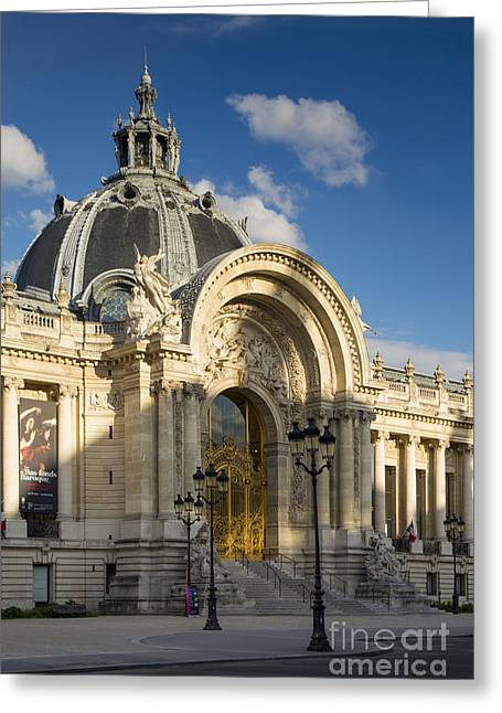 Convention Greeting Cards - Petite Palais Greeting Card by Brian Jannsen