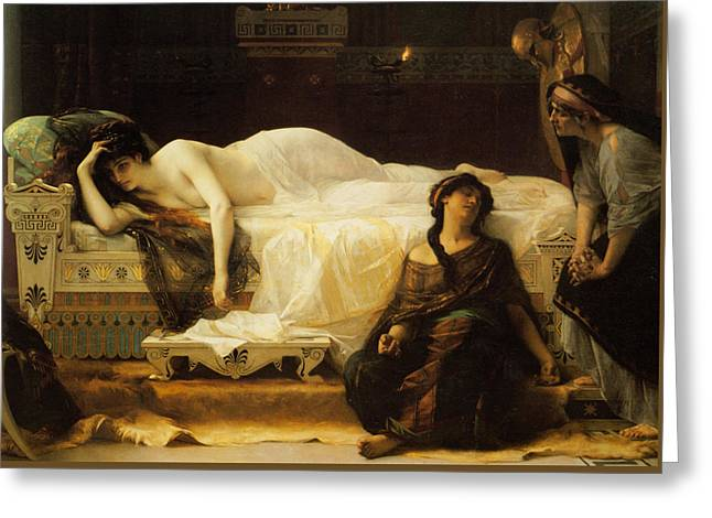 Phedre Greeting Card by Alexandre Cabanel