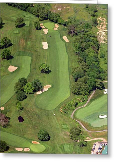 Philadelphia Cricket Club Wissahickon Golf Course 12th Hole Greeting Card by Duncan Pearson