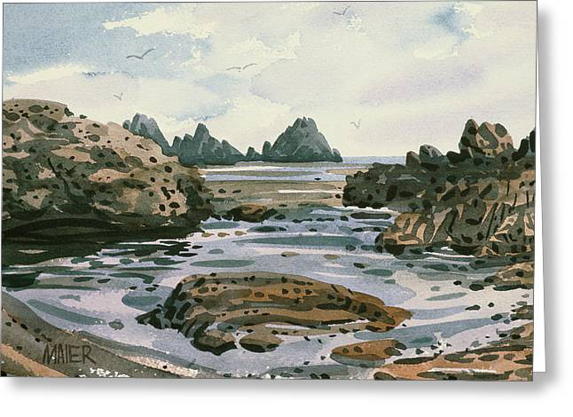 Point Lobos Greeting Card by Donald Maier