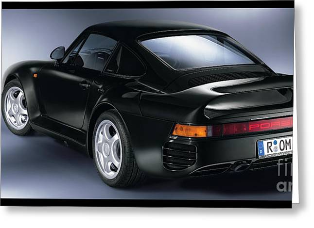 80s Greeting Cards - Porsche 959 Greeting Card by Jon Neidert
