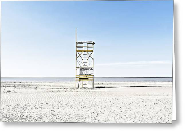 Best Ocean Photography Greeting Cards - Port Stanley Greeting Card by Jerry Golab