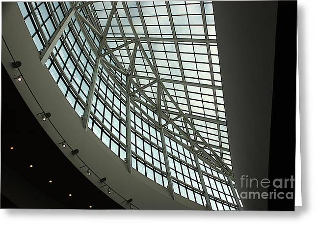 Convention Greeting Cards - Portland Convention Center Greeting Card by David Bearden