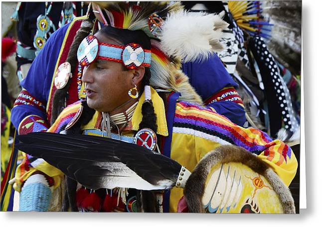 Pow Wow Native Pride 2 Greeting Card by Bob Christopher