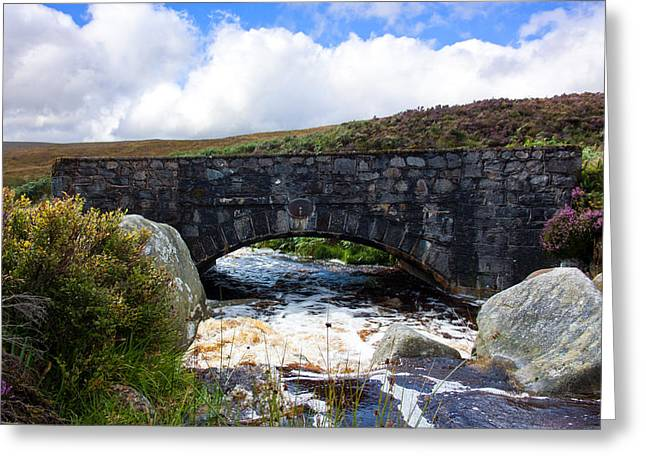 Heathland Greeting Cards - PS I Love You Bridge in Ireland Greeting Card by Semmick Photo